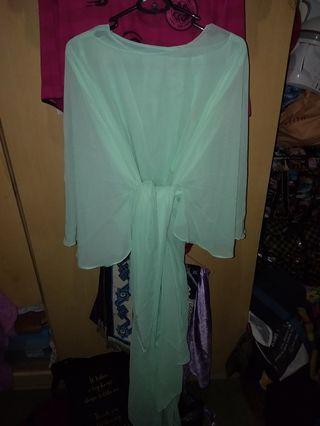 Bell Pario Dress (Mint Green)