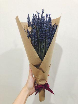 🚚 Dried lavender handmade bouquet