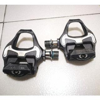 Shimano Ultegra PD6800 pedals with cleats