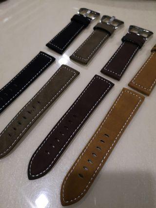 Panerai aftermarket leather strap