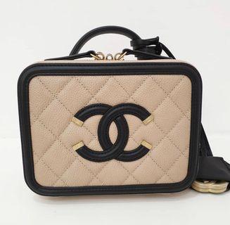 Rare!! Brand new Chanel Filigree in Small size
