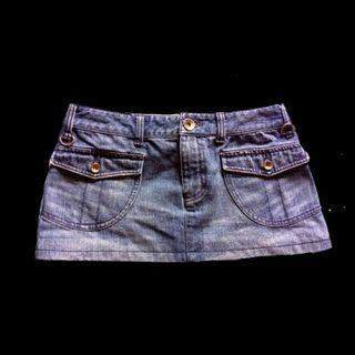 BN Armani Exchange A/X Denim Jeans Skirt