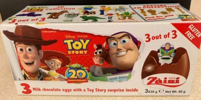 Toy Story 出奇蛋玩具-驢仔/泡泡龍/勞蘇