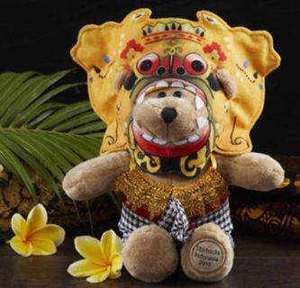 Exclusive Starbucks Dewata Bearista with Barong Costume