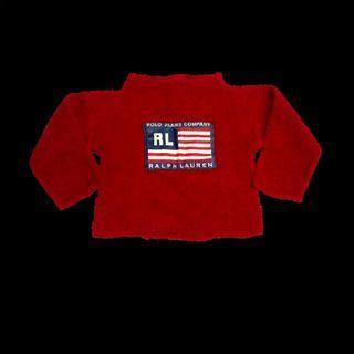 Polo Ralph Lauren Kids Fleece Baby Sweater