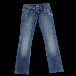 Miss Sixty Distress Boyfriend Cut Denim Jeans