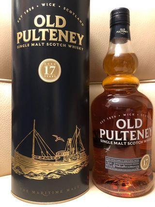 已停產 Old Pulteney 17 Single Malt Whisky 46%abv