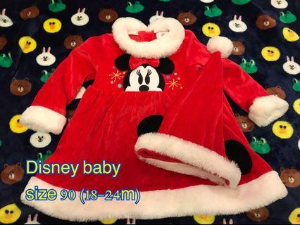 Disney Baby Minnie Christmas Costume 迪士尼米妮聖誕裙