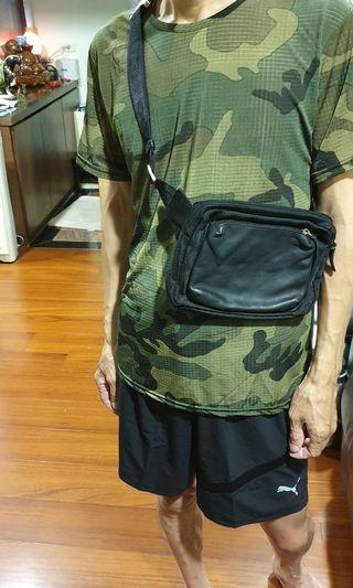 🚚 ODBO 真皮腰包 側背包