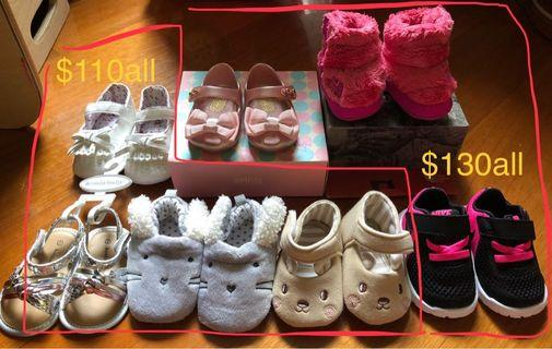 Shoes,gloves new&used