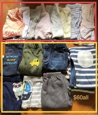 Baby clothes new&used