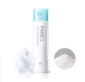 Fancl 洗面粉 潔面粉