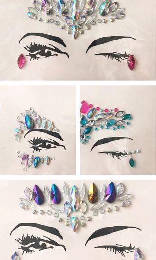 FACE JEWELS FOR FESTIVAL SEASON - NEW