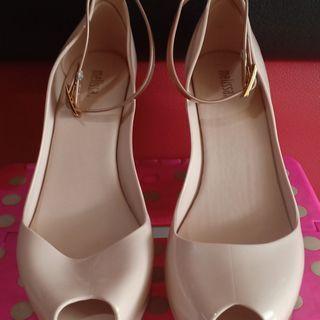 Sepatu Melissa Patchuli Wedges (Preloved)