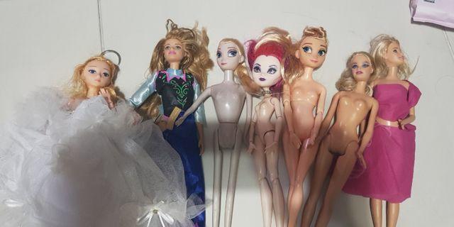 Barbie Dolls without dress
