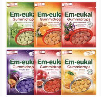 🚚 德國🇩🇪索丹 em-eukal 原裝進口軟糖 90g😽超好吃