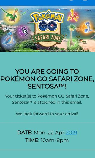 sentosa safari zone ticket