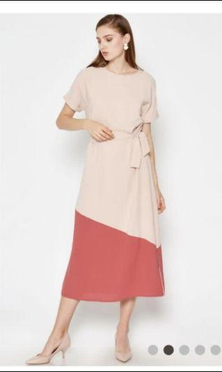Love and Bravery Eukene colour block dress