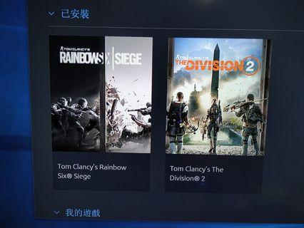 The Division 2+Rainbow Six 賣uplay acc