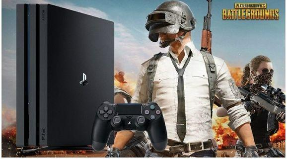 PS4 PRO + Complimentary PUBG Game BlueRay.