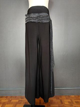 🚚 Latin / Ballroom Dance Pants Black #6