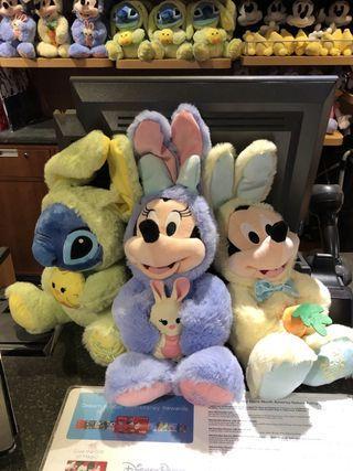 《美國夏威夷Disney Store復活節限定代購》迪士尼公仔(Mickey米奇/Minnie米妮/Stitch史迪仔/Angel)