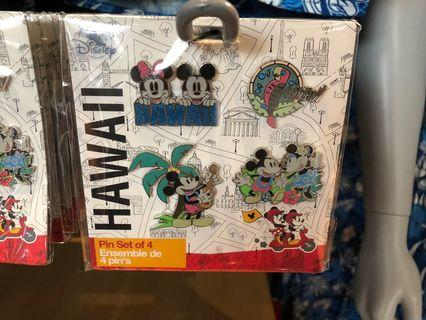 《美國夏威夷Disney Store代購》迪士尼襟章/徽章pin