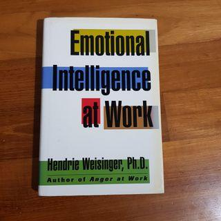 🚚 Emotional  intelligence  at work / Hendrix weising, oh d