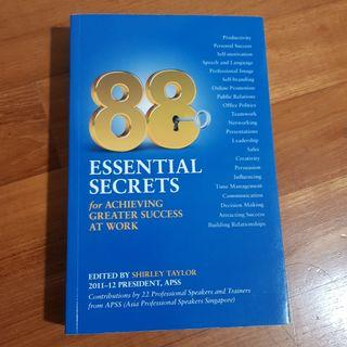 🚚 88 essential essential  secrets for achieving  greater success at work