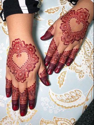 Bridal henna ( in your Budget)