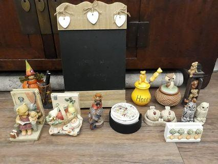 Various Home Decorations