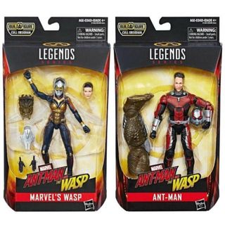 in Hand Marvel Legends Series Avengers Infinity War Loki & Corvus Glaive 2pack Film, Tv & Videospiele