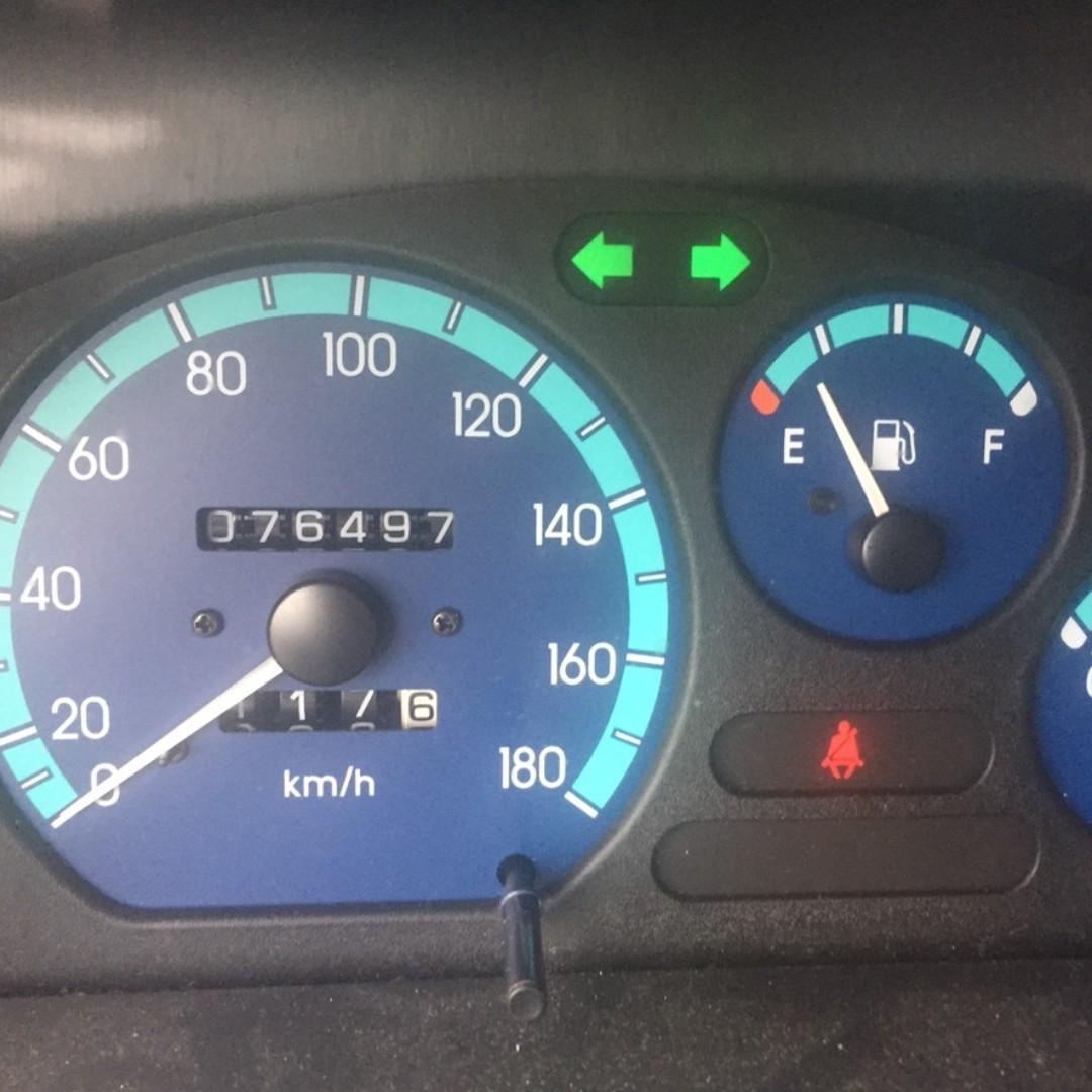 04年MATIZ 綠 跑7萬