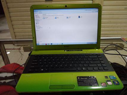Laptop sony vaio i5