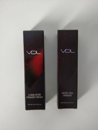 BNIB VDL Lumilayer/Satin Veil Primer (5mL each)