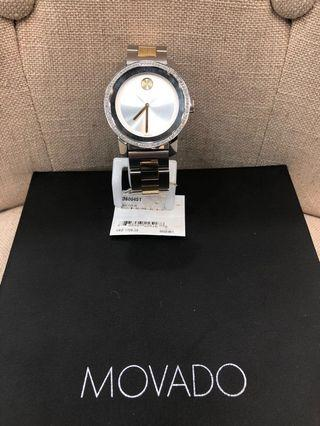 Movado Bold Stainless Steel Ladies Watch 3600451