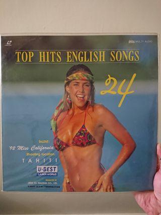 Top Hits English Songs LD (laser disc)