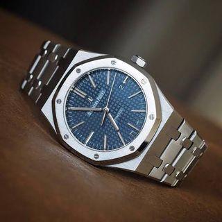 Audemars Piguet 15400st blue