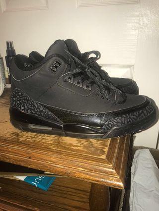 """Air Jordan 3 retro """"black cat"""""""