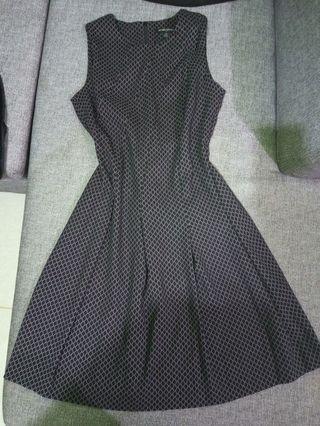 BANANA REPUBLIC A-line Black Dress