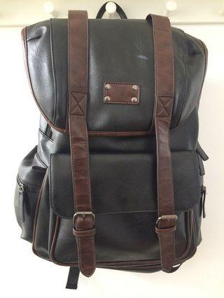 Leather Backpack (Ransel Kulit) [Reprice]