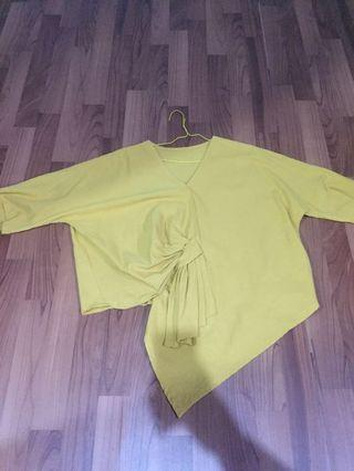 Mustard Top blouse