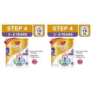 2 x Dumex Mamil Gold Stage Step 4 Formula Milk Powder DHA Omega