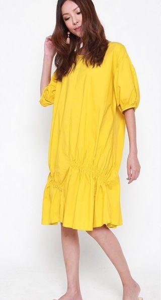 [NEW] Tracyeinny yellow dress