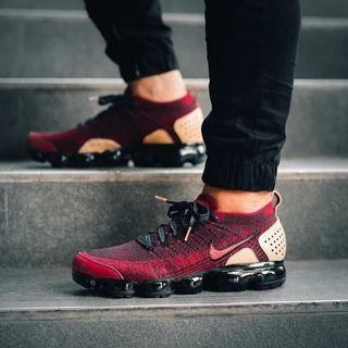 Nike Air Vapormax Flyknit 2.0 Team Red Black (premium)
