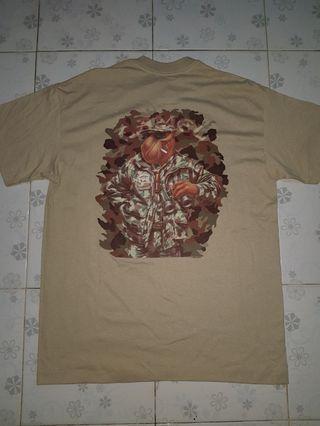Deadstock new camel camo shirt