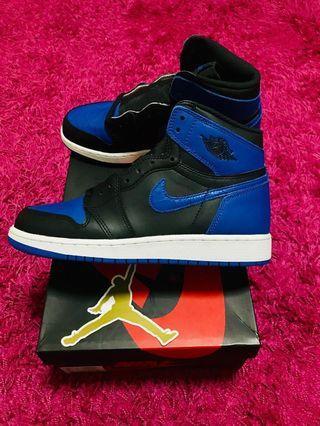 Jordan 1 Royal Size 6Y 5.5 UK 24cm