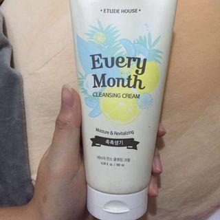 Etude cleansing cream