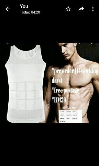 Keep fit singlet for men