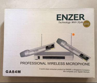 Wireless Microphone with base receiver